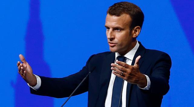"""Fransa Cumhurbaşkanı Macrondan AB ülkelerine """"yaptırım"""" çağrısı"""