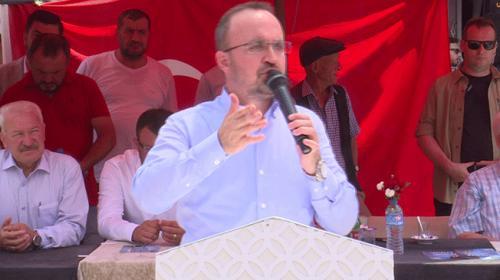 AK Parti Grup Başkanvekili Turandan Muharrem İnceye TRT eleştirisi