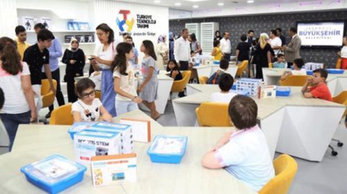 Geleceğin Teknoloji Yıldızları Programına öğrencilerden büyük katılım
