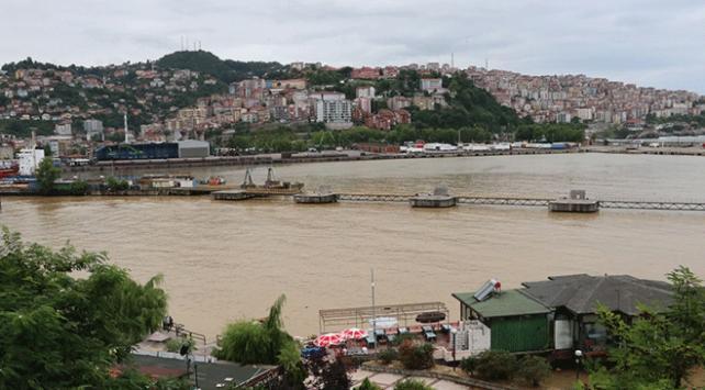 Zonguldakta sağanak