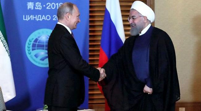 """İran, Rusyanın siyasi oyuncağı olmuştur"""