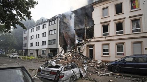 Almanyada patlama: 25 yaralı