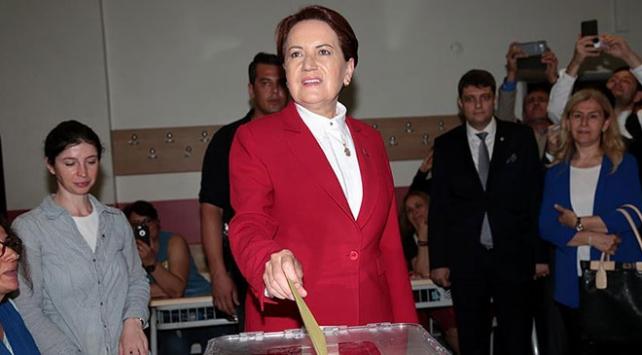 Akşenerin sandığından Cumhurbaşkanı Erdoğan çıktı