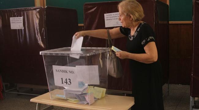 KKTCde yerel seçimlerde oy verme işlemi tamamlandı