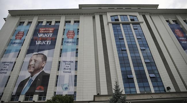AK Partide seçim sonuçları hazırlıkları sürüyor