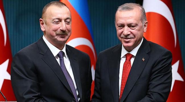 Azerbaycan Cumhurbaşkanı Aliyev, Cumhurbaşkanı Erdoğanı kutladı
