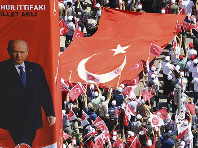 MHP 45 ilde oylarını yükseltti