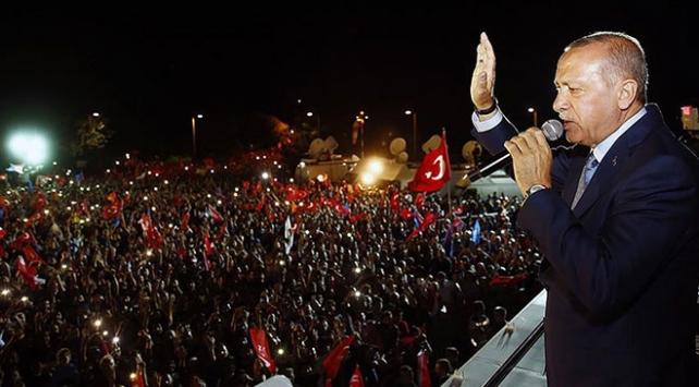 İsrail'de yaşayan Filistinliler Cumhurbaşkanı Erdoğan'ın seçim başarısını kutladı