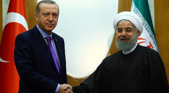 İran Cumhurbaşkanı Ruhaniden Cumhurbaşkanı Erdoğana tebrik