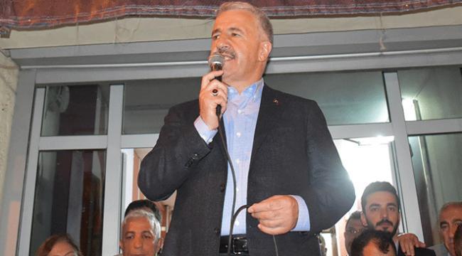 Bakan Arslan: Güçlü bir şekilde milletimize hizmet edeceğiz