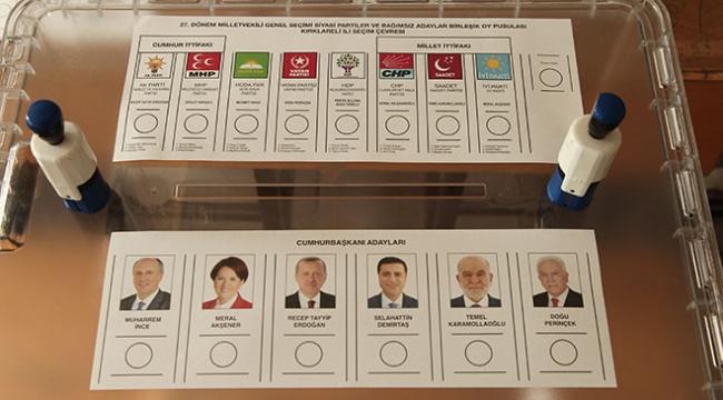 Oy pusulasının fotoğrafını çeken 6 kişiye yasal işlem