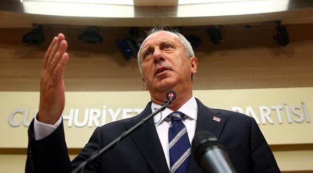 CHP Cumhurbaşkanı Adayı İnce: Seçim sonuçlarını kabul ediyorum
