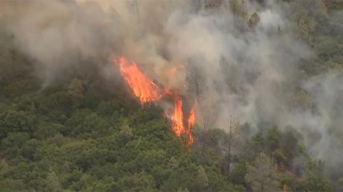Californiada çıkan yangın nedeniyle 3 bin kişi tahliye edildi