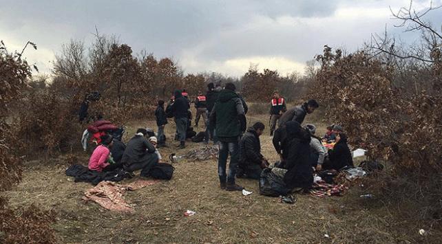 Hatayda yasa dışı yollarla Türkiyeye geçmeye çalışan 23 Suriyeli yakalandı