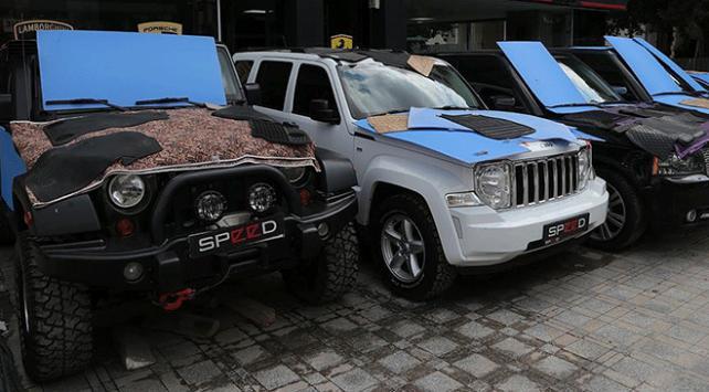 İstanbulda araç sahiplerinden dolu önlemi