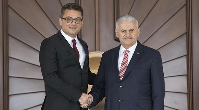 KKTC Başbakanı Erhürmandan Başbakan Yıldırıma tebrik telefonu