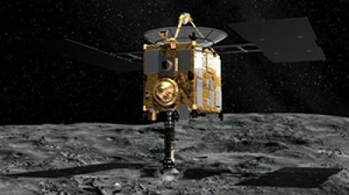 Japon uzay aracı, asteroid Ryuguya ulaştı