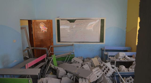 Esed rejimi Derada okul vurdu