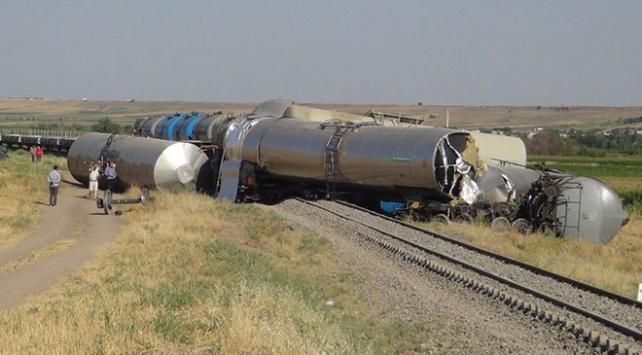 Batman-Diyarbakır seferini yapan yük treni raydan çıktı