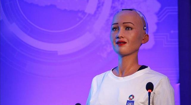 """Robot Sophianın konuşacağı ikinci dil """"Amharca"""""""