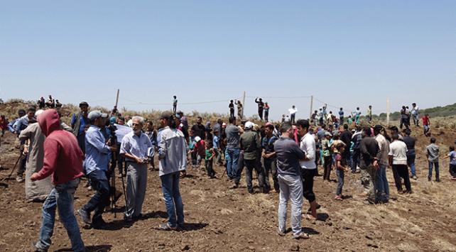 Deralılar Ürdün sınırına göç ediyor