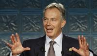 Blair'e Irak Protestosu