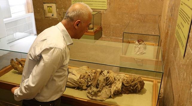 Niğde Müzesindeki mumyalar ziyaretçilerini bekliyor