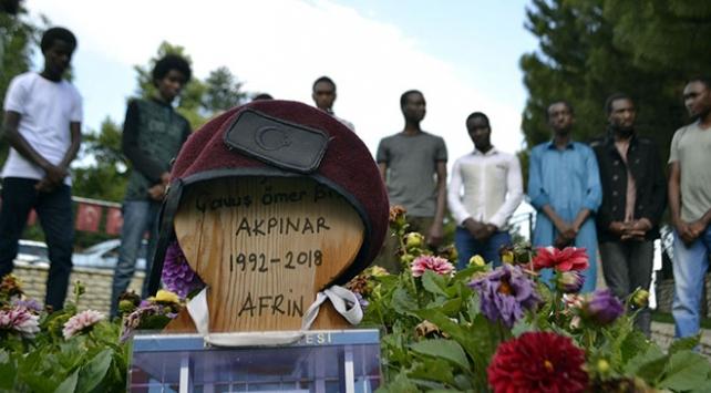 Afrin şehidi Ömer Bilal Akpınar adına, Etiyopyada su kuyusu açıldı