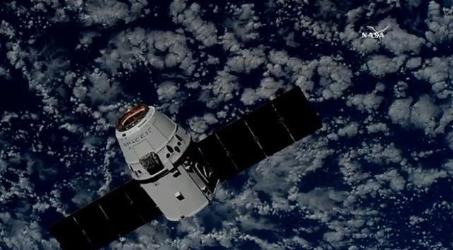 SpaceXin kargo kapsülü Uluslararası Uzay İstasyonuna ulaştı
