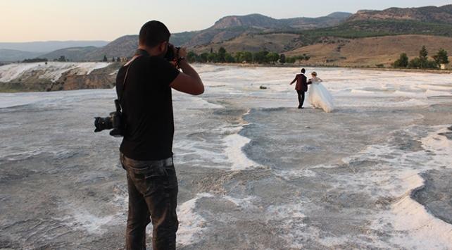 Fotoğrafçıların doğal stüdyosu: Pamukkale