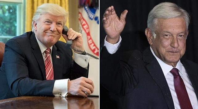 Meksikanın yeni Devlet Başkanı Obradordan Trump yönetimiyle anlaşma taahhüdü