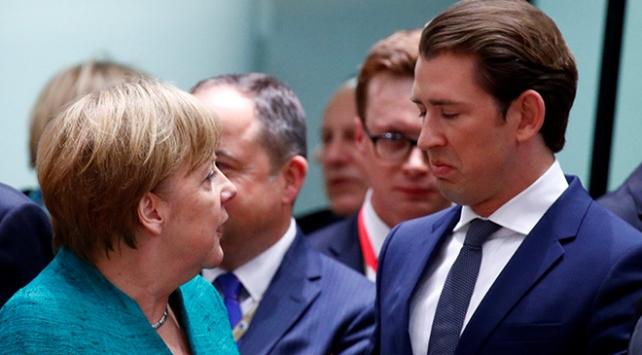 Almanyadaki sığınmacı uzlaşması Avusturyayı memnun etmedi