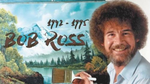 """Türkiye Bob Rossu """"küçük, mutlu"""" ağaçlarıyla tanıdı"""