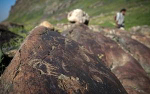 Ciloda merak uyandıran kaya resimleri