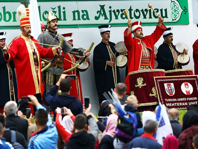 TSK Mehteran Birliği Bosna Hersekte konser verdi