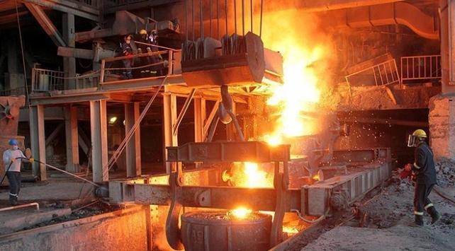 Türkiyenin ham çelik üretimi 16 milyon tona yaklaştı