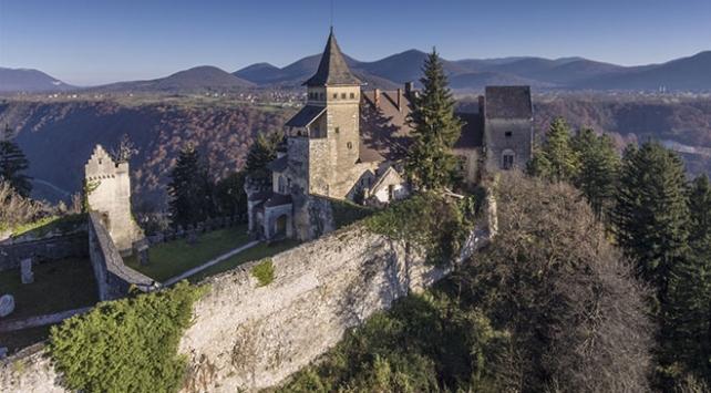 Osmanlının tarihi kalesinden romantik bir şatoya