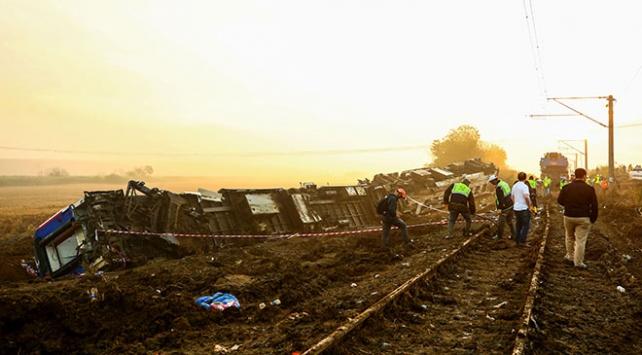 Çorluda tren kazasında 24 kişi hayatını kaybetti