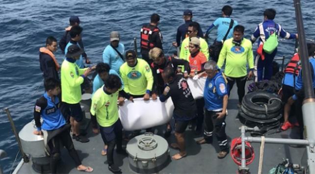 Taylandda tekne faciasında ölü sayısı artıyor