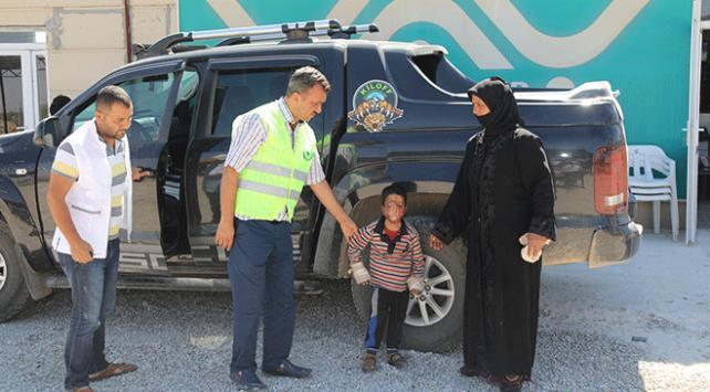 Suriyeli Musa Türkiyede sağlığına kavuşacak