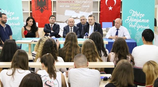 """Arnavutlukta """"Osmanlıca Yaz Okulu"""" başladı"""