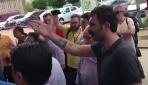 HDPli Barış Atay hastanede vatandaşın üzerine yürüdü