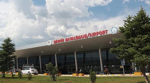 Bingöl Havalimanından geçen ay 18 bin 837 kişi uçtu