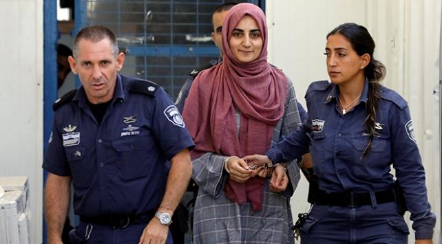 İsrailden Ebru Özkanın tahliyesine itiraz