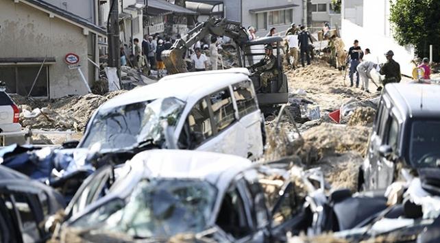 Japonyada sel ve toprak kaymalarında bilanço ağırlaşıyor: 156 ölü