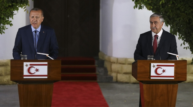 Cumhurbaşkanı Erdoğan: Kıbrıs Türkünün yanında durmaya devam edeceğiz
