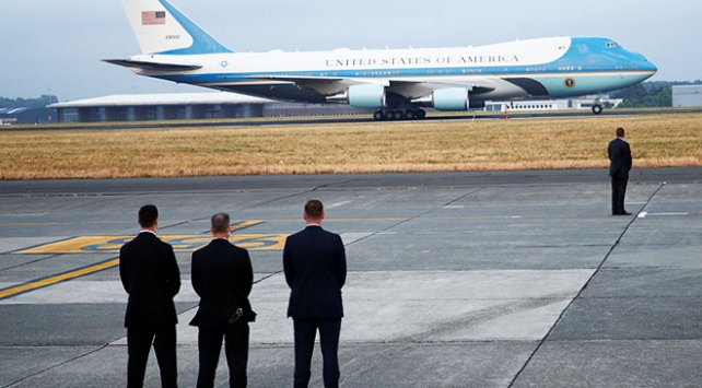 ABD Başkanı Trumpa Brükselde soğuk karşılama