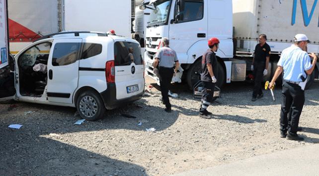 Kahramanmaraşta trafik kazası: 2 ölü