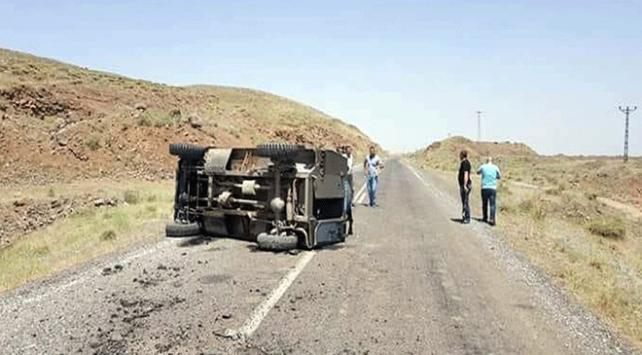 Muşta askeri araç devrildi: 4 yaralı