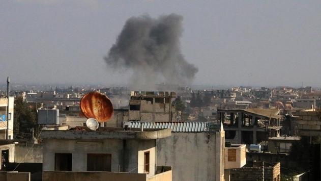 Esed rejiminin İdlibe hava saldırıları devam ediyor